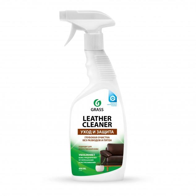 Очиститель-кондиционер для натуральной кожи LEATHER CLEANER 131600, флакон 600 мл