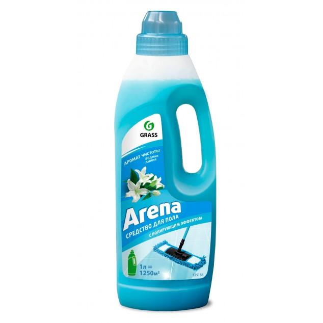 Средство для пола с полирующим эффектом «Arena» Водная лилия (канистра 1 л)