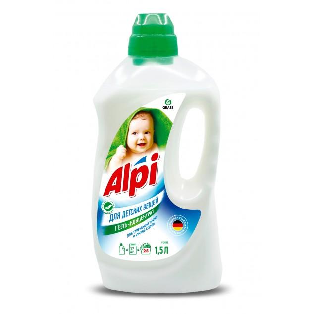 Гель-концентрат для стирки «Alpi», для детских вещей (флакон 1,5 л)