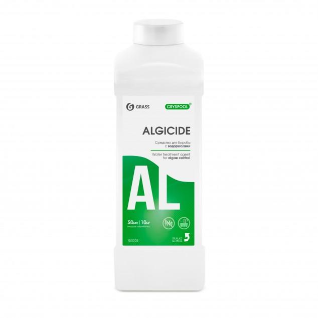 Средство для борьбы с водорослями CRYSPOOL ALGICIDE 150005, канистра 1 литр