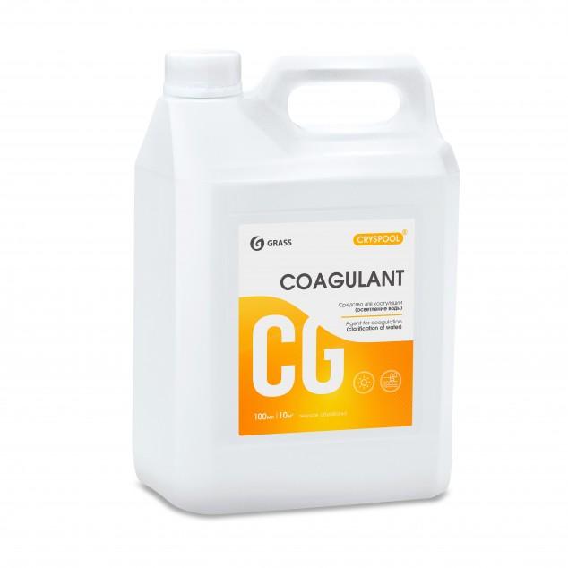 Средство для коагуляции (осветления) воды CRYSPOOL COAGULANT 150011, канистра 5.9 кг