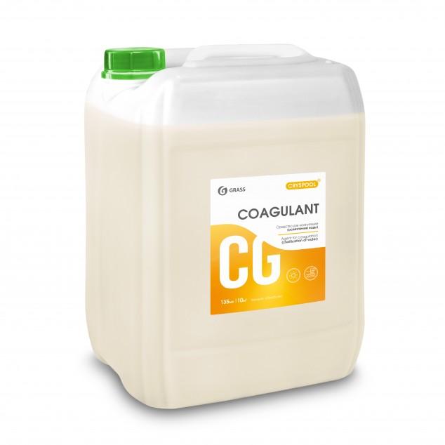 Средство для коагуляции (осветления) воды CRYSPOOL COAGULANT 150012, канистра 23 кг