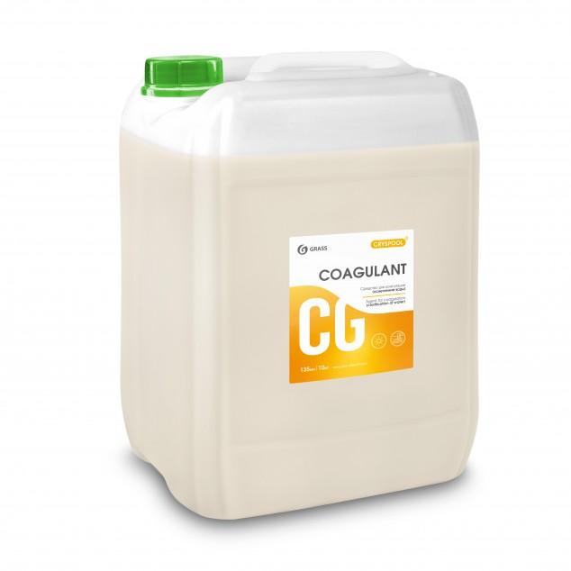 Средство для коагуляции (осветления) воды CRYSPOOL COAGULANT 150013, канистра 35 кг