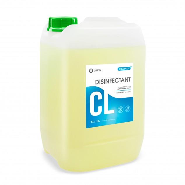 Средство дезинфицирующее для воды CRYSPOOL DISINFECTANT 150001, канистра 12 кг