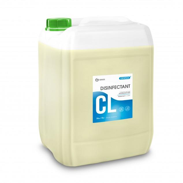 Средство дезинфицирующее для воды CRYSPOOL DISINFECTANT 150007, канистра 35 кг