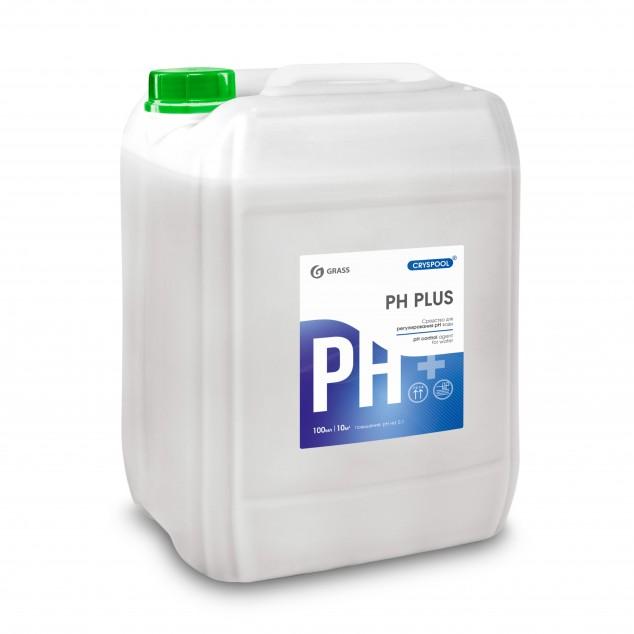Средство для регулирования pH воды CRYSPOOL PН PLUS 150002, канистра 23 кг
