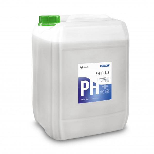 Средство для регулирования pH воды CRYSPOOL PН PLUS 150008, канистра 35 кг