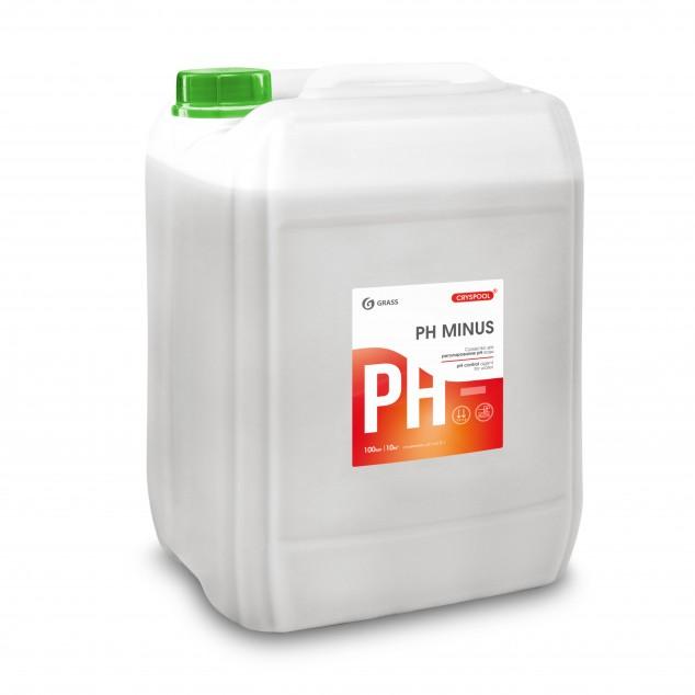 Средство для регулирования pH воды CRYSPOOL PН MINUS 150010, канистра 35 кг