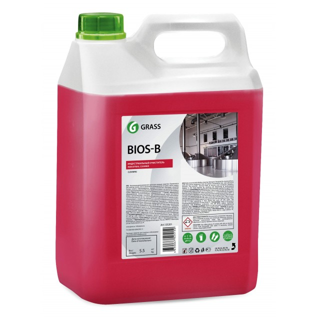 Щелочное моющее средство «Bios B» (канистра 5,5 кг)