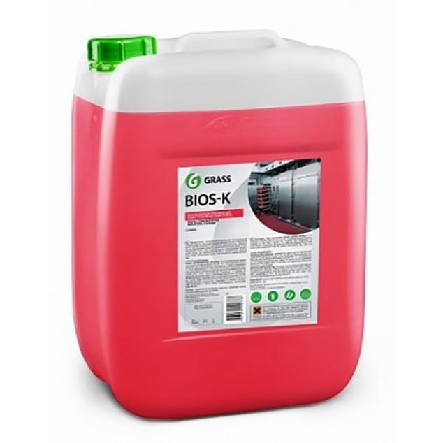Высококонцентрированное щелочное средство «Bios K» (канистра 22,5 кг)
