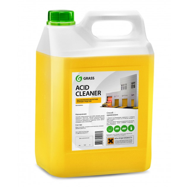 Кислотное средство для очистки фасадов «Acid Cleaner» (канистра 5,9 кг)