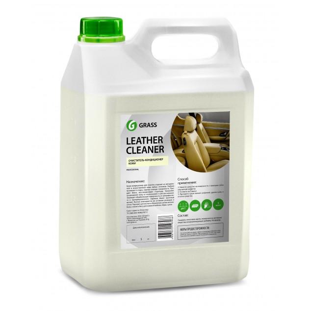 Очиститель-кондиционер кожи LEATHER CLEANER 131101, канистра 5 кг