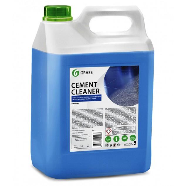 Очиститель после ремонта CEMENT CLEANER 125305, кислотное моющее средство, канистра 5.5 кг