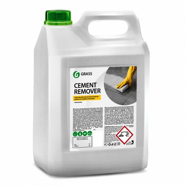 Очиститель после ремонта «Cement Remover», кислотное моющее средство (канистра 5,8 кг)