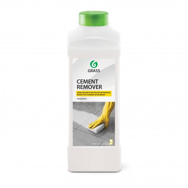 Очиститель после ремонта CEMENT REMOVER 125441, кислотное моющее средство, канистра 1 литр