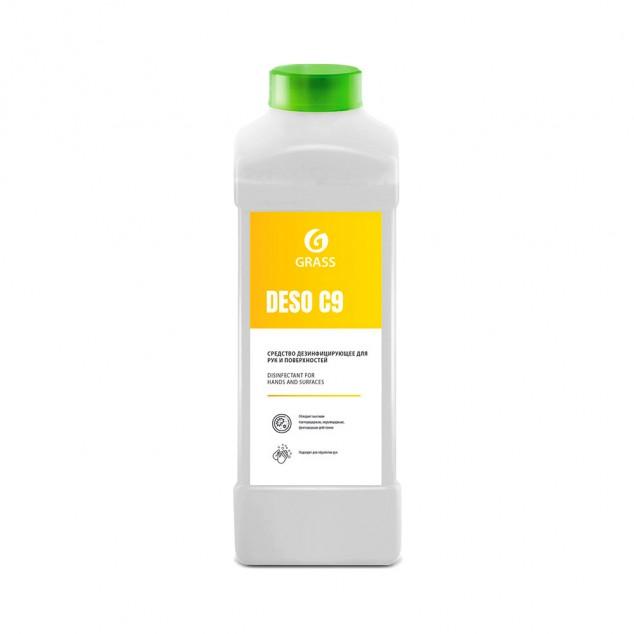Дезинфицирующее средство на основе изопропилового спирта «DESO C9» 550024, канистра 1 литр