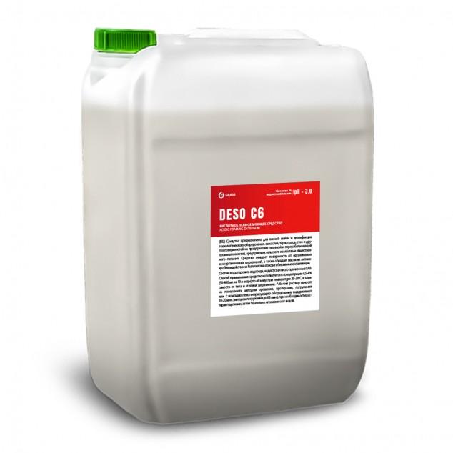 Кислотное пенное моющее средство «DESO C6» 550027, канистра 17.6 литров