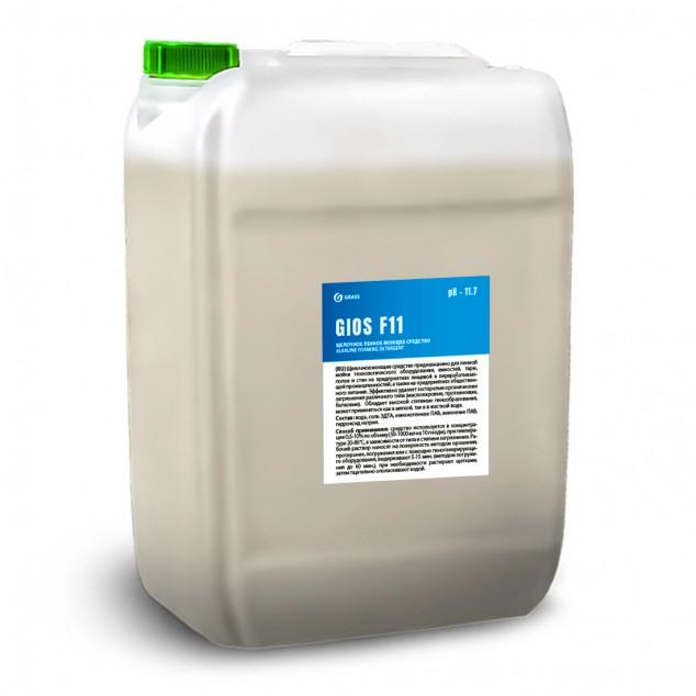 Щелочное пенное моющее средство «GIOS F11» 550034, канистра 19 литров