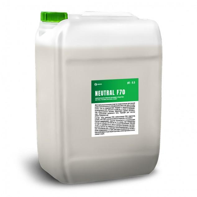 Нейтральное пенное моющее средство «NEUTRAL F70» 550042, канистра 19 литров