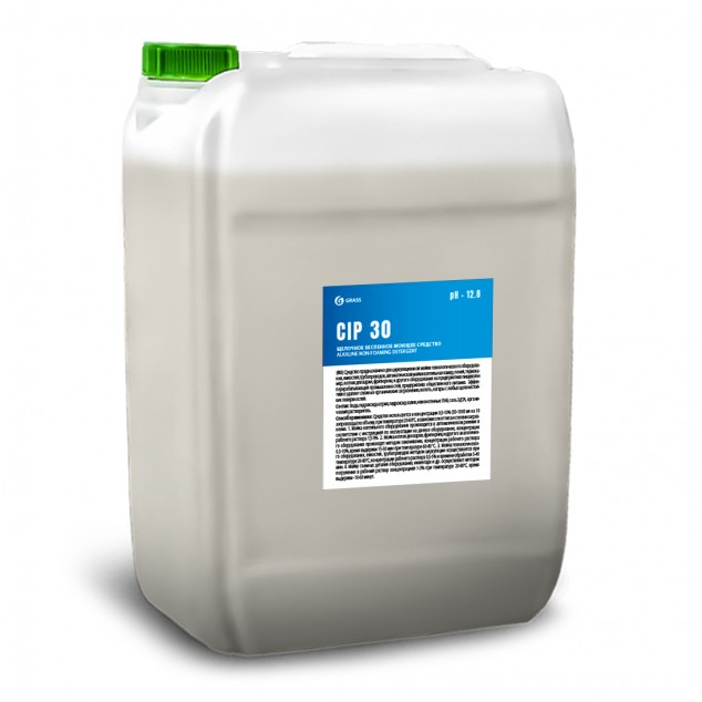 Щелочное беспенное моющее средство «CIP 30» 550050, канистра 18.5 литров
