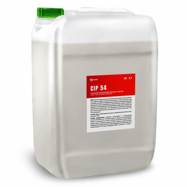 Кислотное низкопенное моющее средство на основе ортофосфорной кислоты «CIP 54» 550056, канистра 19 литров