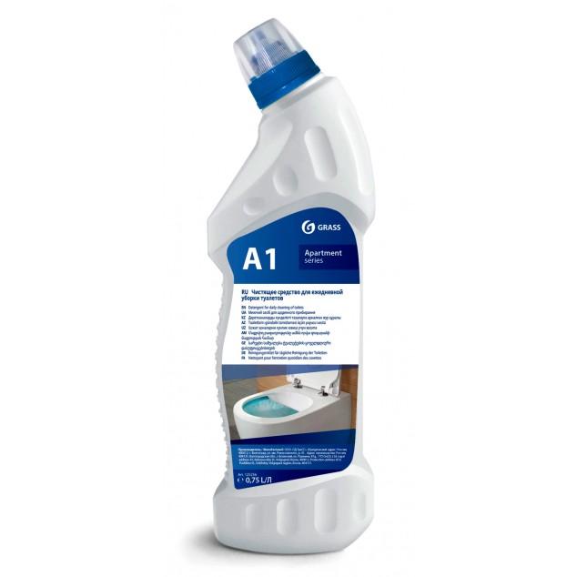 А1 Чистящее средство для ежедневной уборки туалетов (флакон 750 мл)