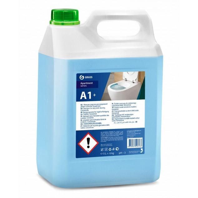 А1+ Чистящее средство для ежедневной уборки туалетов. Концентрат (канистра 5 кг)