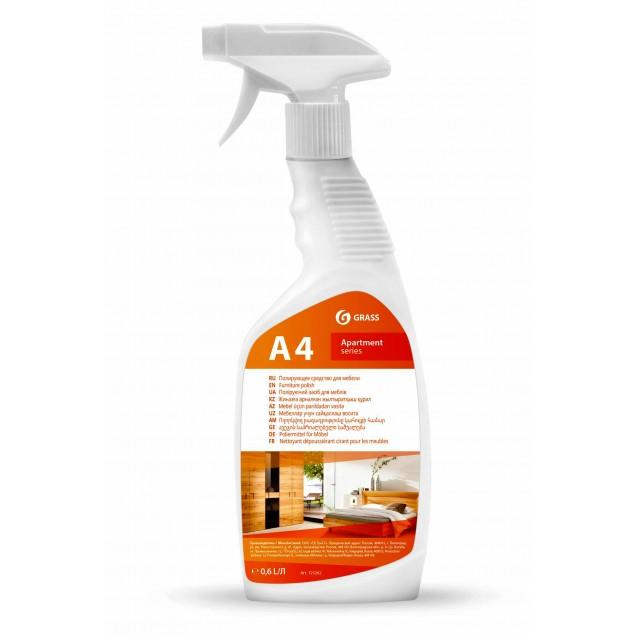 А4 Полирующее средство для мебели (флакон 600 мл)