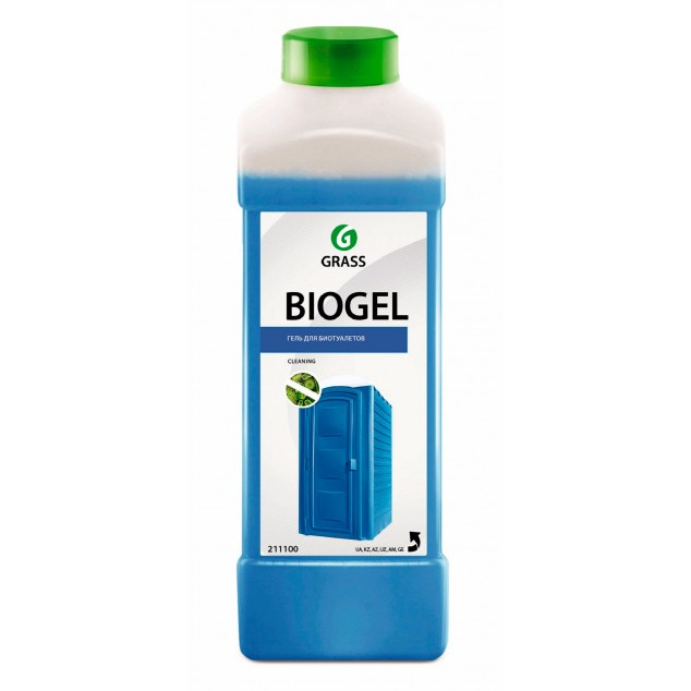 Средство для биотуалетов, гель «Biogel» (канистра 1 л)