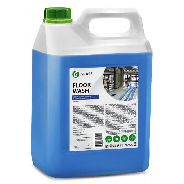 Нейтральное средство для мытья пола FLOOR WASH 125195, канистра 5.1 кг