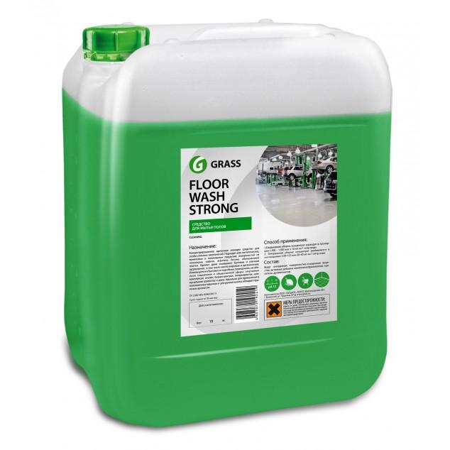 Щелочное средство для мытья пола FLOOR WASH STRONG 250102, канистра 10 кг