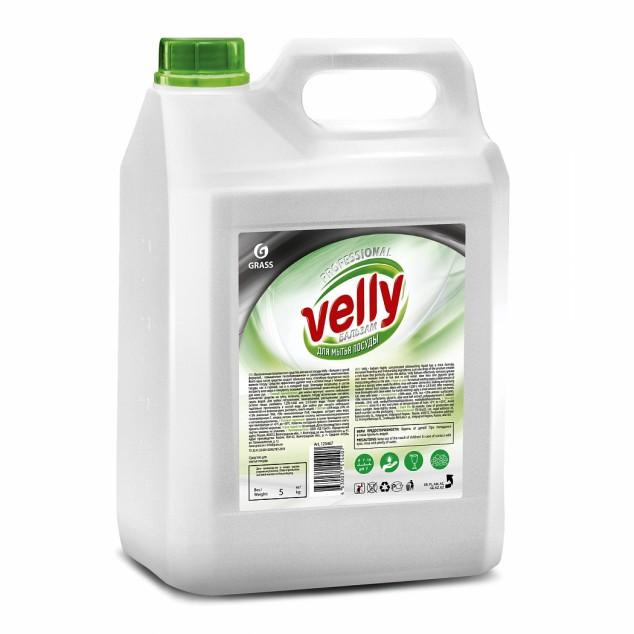 Средство для мытья посуды VELLY «Бальзам» Алоэ Вера 125467, канистра 5 кг