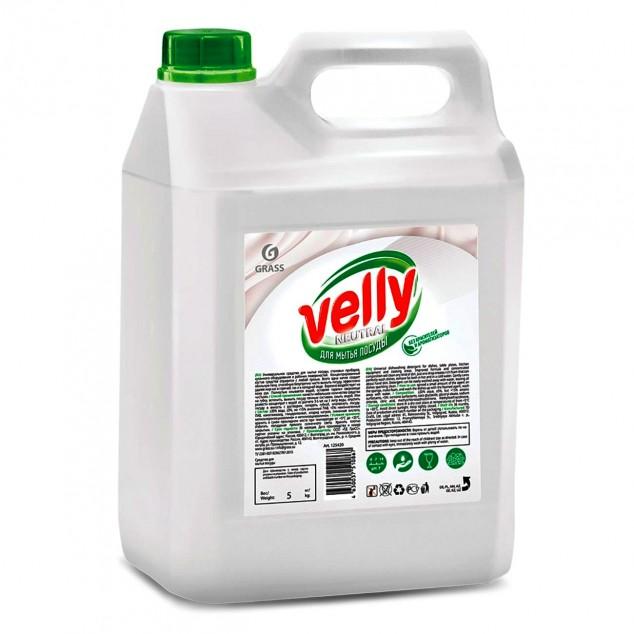 Средство для мытья посуды VELLY «Neutral» 125420, канистра 5 кг
