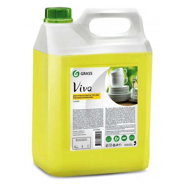 Средство для мытья посуды VIVA «Лимон» 345000, канистра 5 кг