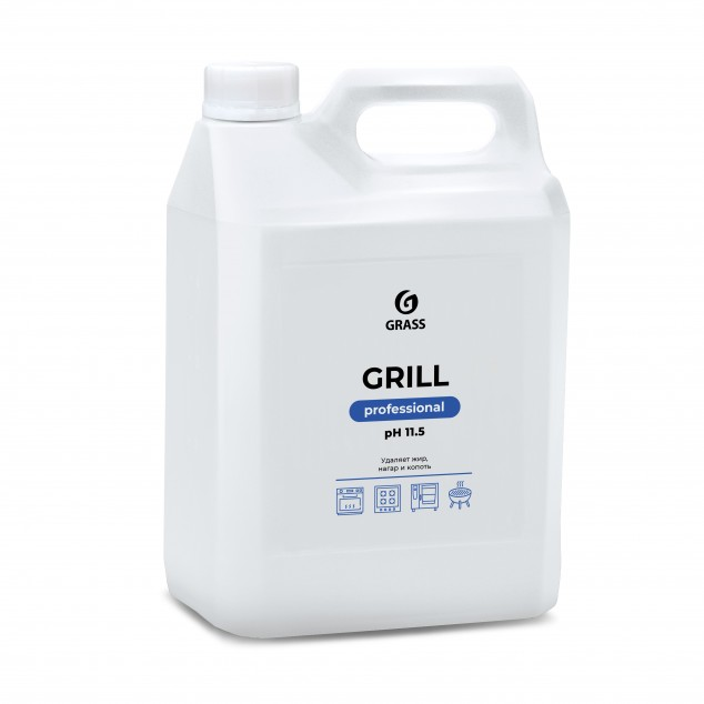Чистящее средство GRILL Professional 125586, канистра 5.7 кг