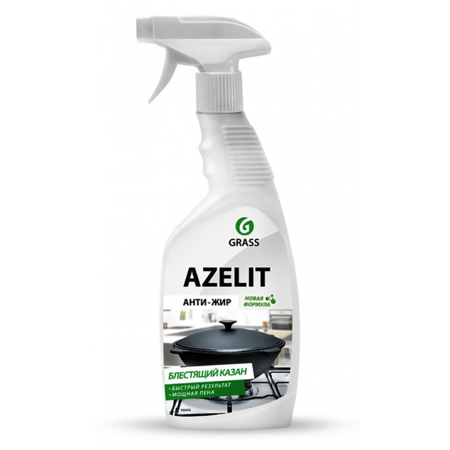 Чистящее средство «AZELIT» АНТИ-ЖИР КАЗАН 125375, флакон 600 мл