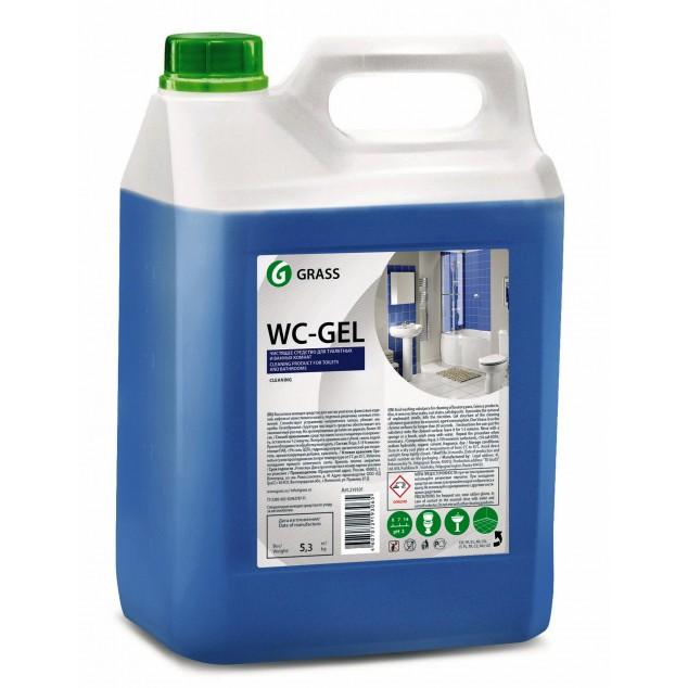 Средство для чистки сантехники WC-GEL 125203, канистра 5.3 кг