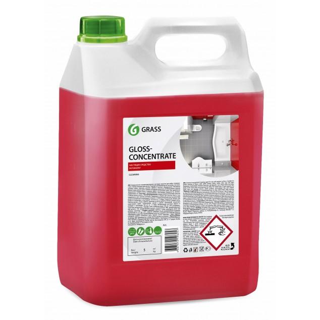 Концентрированное чистящее средство GLOSS-CONCENTRATE 125323, канистра 5.5 кг