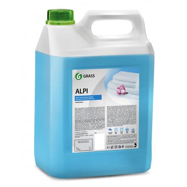 Гель-концентрат для стирки «ALPI», для белых вещей (канистра 5 кг)