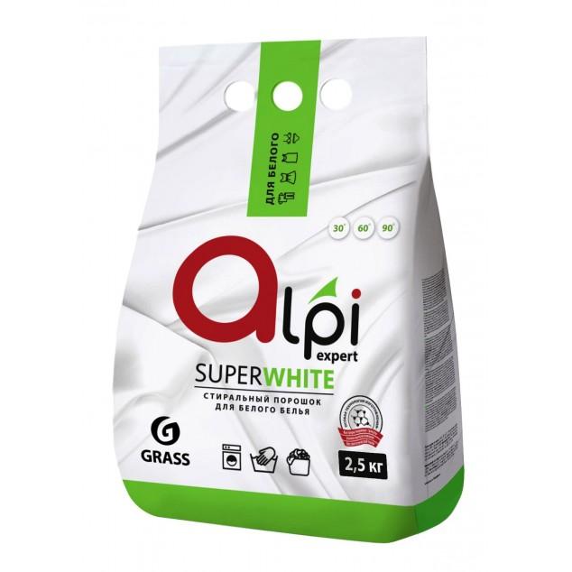 Стиральный порошок «Alpi Expert» для белого белья (упаковка 2,5 кг)