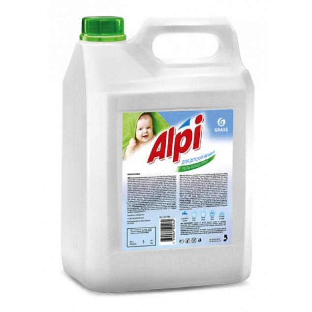Гель-концентрат для стирки «Alpi sensetive gel», для детских вещей (канистра 5 кг)