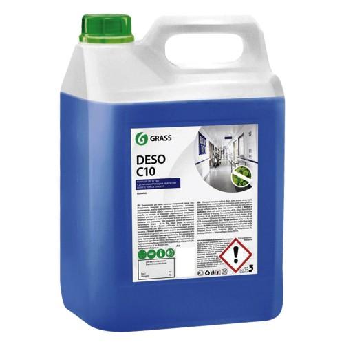 Средство для чистки и дезинфекции DESO C10 125191, концентрат, канистра 5 кг
