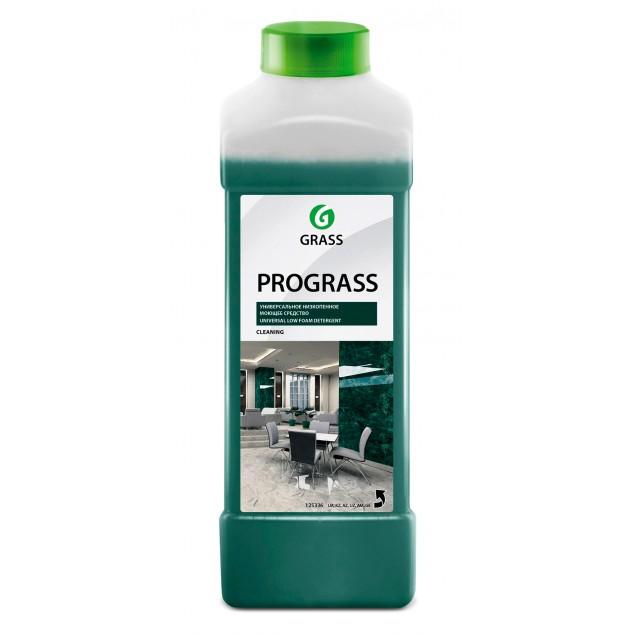 Универсальное низкопенное нейтральное моющее средство PROGRASS 125336, канистра 1 литр