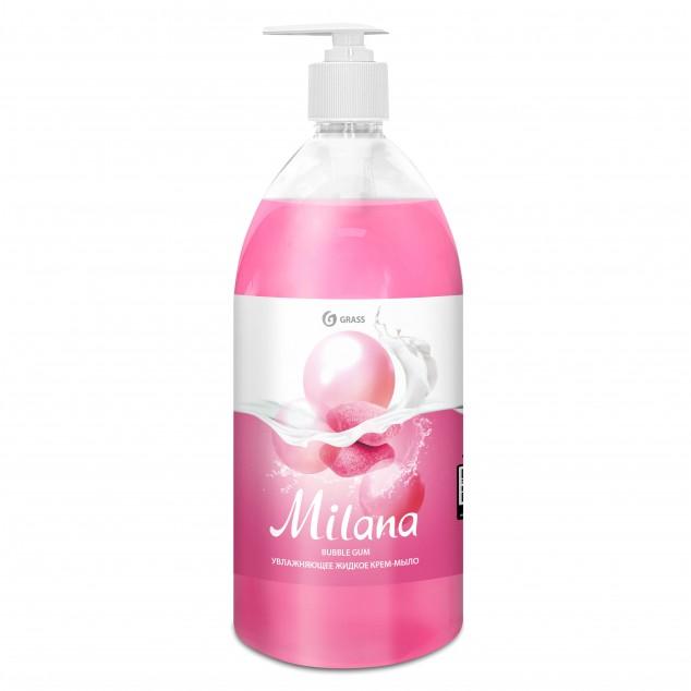 Жидкое крем-мыло «Milana» Fruit Bubbles (флакон 1000 мл)