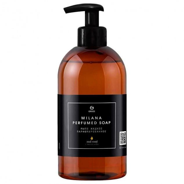 Парфюмированное жидкое мыло MILANA «Oud Rood» 125450, флакон 300 мл