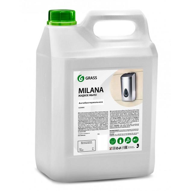 Жидкое мыло «MILANA Антибактериальное» 125361, канистра 5 литров