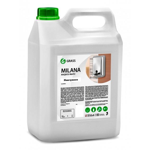 Жидкое крем-мыло «Milana» Жемчужное (канистра 5 кг)