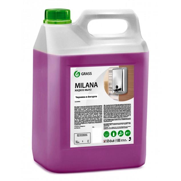 Жидкое крем-мыло «Milana» Черника в йогурте (канистра 5 кг)