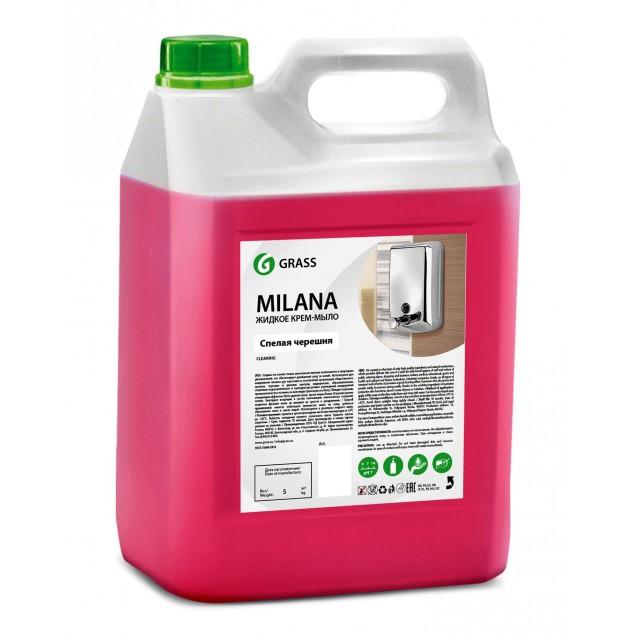 Жидкое крем-мыло «Milana» Спелая черешня (канистра 5 кг)