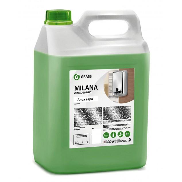 Жидкое крем-мыло «Milana» Алоэ Вера (канистра 5 кг)